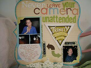 Camera unattended